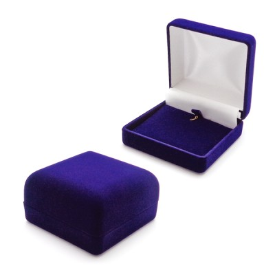 pudełko welurowe do kolczyków/zawieszki/łańcuszka
