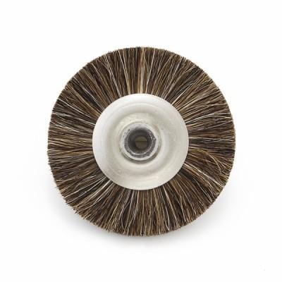 Szczotka z włosia średnia 80 mm