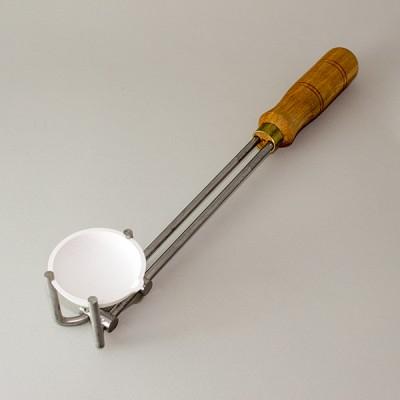 tygiel ceramiczny do topienia złota, srebra, platyny - średnica 55 mm