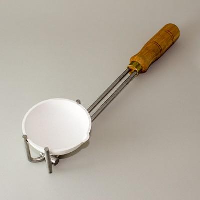 tygiel ceramiczny do topienia złota, srebra, platyny - średnica 75 mm